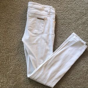 Michael Kors White Skinny Jeans Size 2